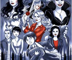 once upon a time, snow white, and emma swan image