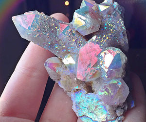 crystal, tumblr, and pink image