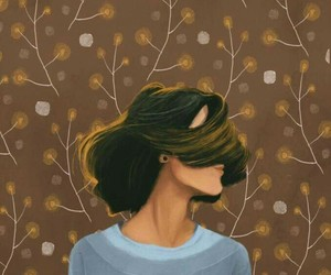 artist, hair, and life image