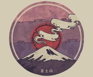 japan, art, and fuji image