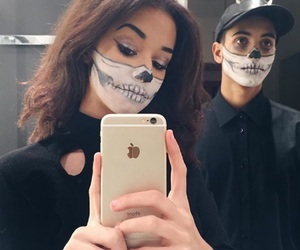 Halloween, contest, and makeup image