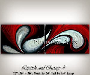 abstract art, Oil Painting, and walldecor image