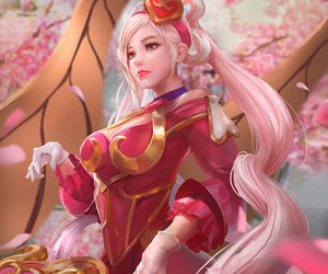 sona, lol, and league of legends image