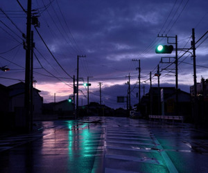 grunge, sky, and night image