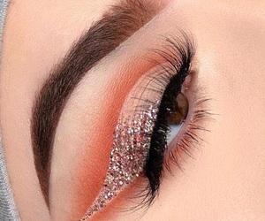 brow, eye, and makeup image