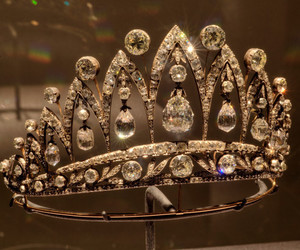 diamond, crown, and luxury image