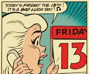 friday the 13th and 13th image