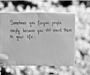 quotes, life, and forgive image