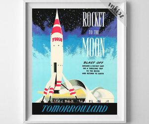 giclee print, vintage poster, and disneyworld image