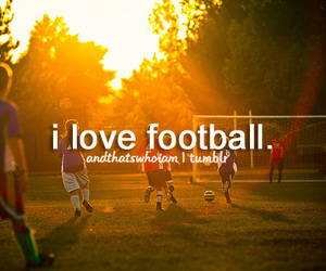 football, sports, and andthatswhoiam image