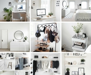 aesthetics, moodboard, and white image