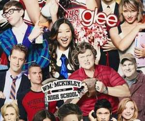 glee, santana lopez, and tina cohen-chang image
