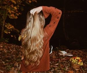 alternative, autumn, and blonde hair image