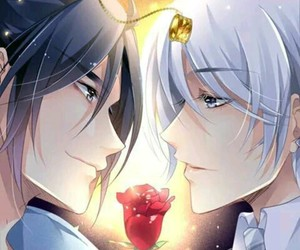 yaoi, yang jinghua, and spiritpact image