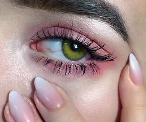 nails, eyes, and eye image