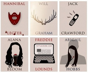 characters, edit, and hannibal image