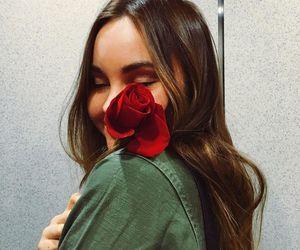 liana liberato, beauty, and flower image