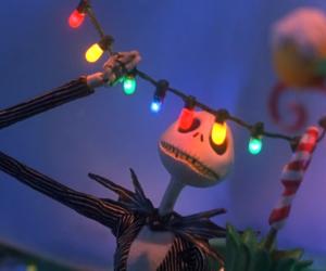 christmas, jack, and light image