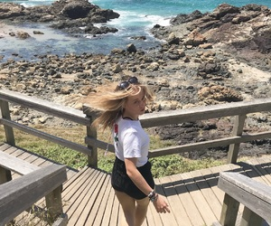 beach, blonde, and hair flick image