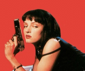 pulp fiction, movie, and 90s image