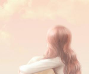 background, beauty, and cartoon image