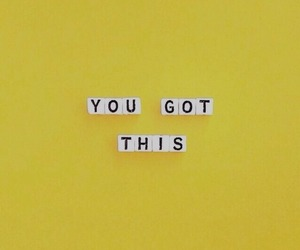 yellow, quotes, and motivation image