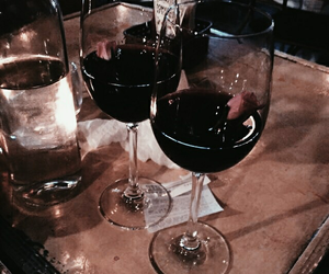 red wine, wine, and aesthetic image