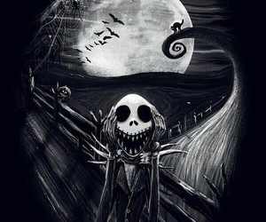 tim burton, Halloween, and jack image