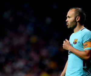 Barca, soccer, and andres iniesta image
