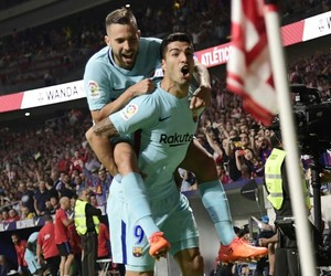 Barca, football, and we heart it image