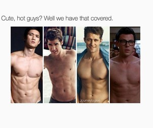 glee, cute, and Hot image