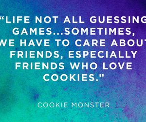 cookie monster and reader's digest image