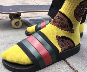 gucci and yellow image