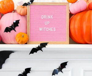 bats, decor, and decorations image