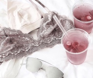drink, pink, and girly image