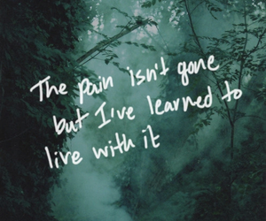 pain, quotes, and dark image