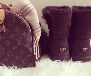 ugg, winter, and Louis Vuitton image
