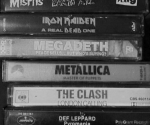 metallica, music, and iron maiden image