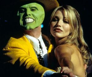 the mask, cameron diaz, and jim carrey image