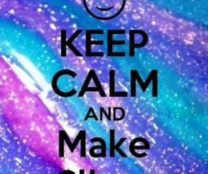love, keep calm, and slime image
