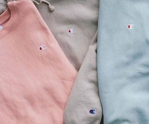 champion, blue, and pink image