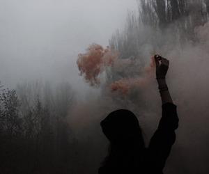 grunge, smoke, and dark image