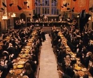 hogwarts, potter, and harry image
