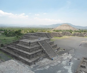 teotihuacan and méxico image