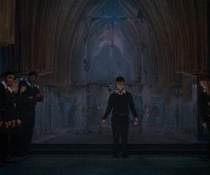 harrypotter, movie, and hogwarts image