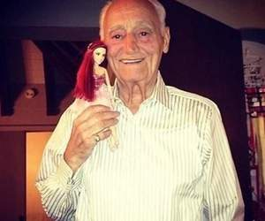 doll, ariana, and grandfather image