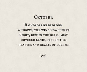 'October'  by Quill. IG @theeverydaypoet