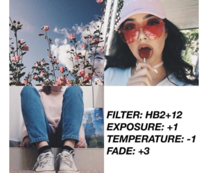 filter, vsco, and cam image