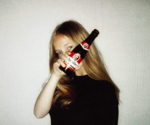 aesthetic, tumblr, and alcoholic image