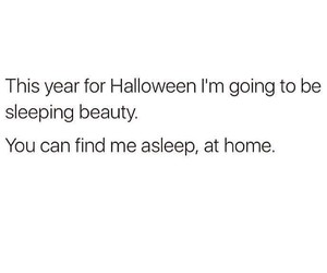 Halloween, quotes, and funny image